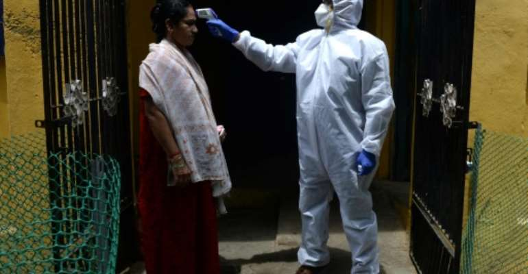 Health experts say the world must urgently help nations battling the virus.  By Arun SANKAR (AFP/File)