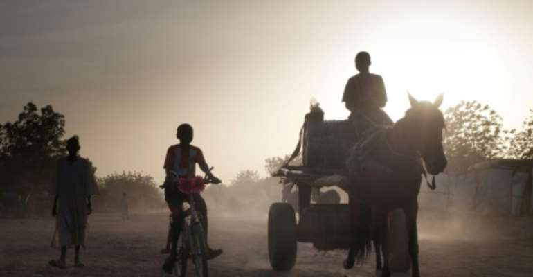 Heat and dust: Treguine camp in eastern Chad houses 25,000 refugees from Darfur, in neighbouring Sudan. Some have languished there for 15 years.  By Amaury HAUCHARD (AFP)