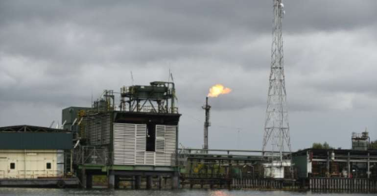 High production costs are hobbling Nigeria and its oil producers as global crude prices have tumbled.  By PIUS UTOMI EKPEI (AFP/File)