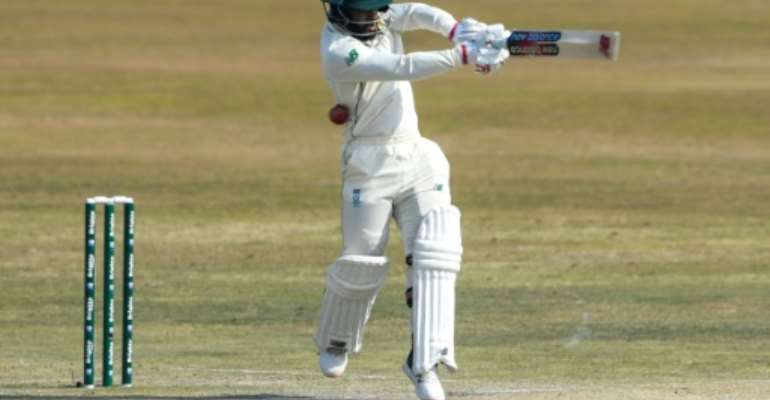 History maker: Temba Bavuma has become South Africa's first black cricket captain.  By Aamir QURESHI (AFP/File)