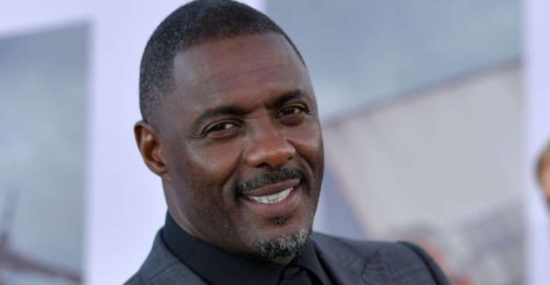 Idris Elba, pictured at the world premiere of 'Hobbs & Shaw' in July.  By Chris Delmas (AFP)