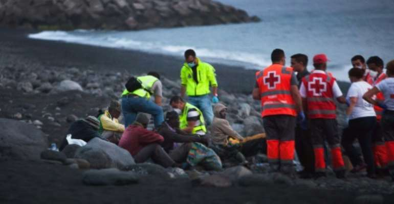 Illegal migration to the Canary Islands in the Atlantic Ocean has risen over six-fold this year compared to the same time last year.  By DESIREE MARTIN (AFP/File)