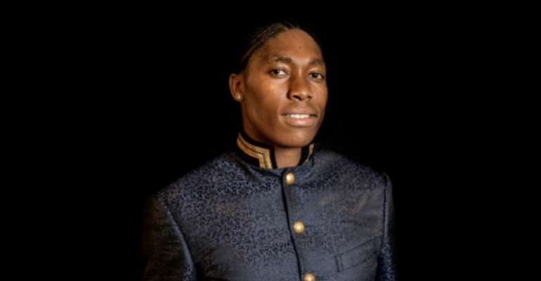 'I'm a 'problem' because I'm an over-achiever,' Caster Semenya told a women's empowerment conference in Johannesburg.  By MARCO LONGARI (AFP)