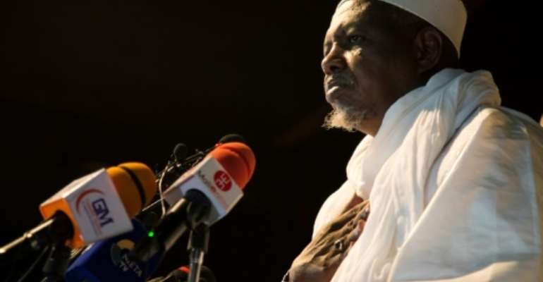 Imam Mahmoud Dicko, one of the key figures behind Keita's ouster, has turned against the junta.  By ANNIE RISEMBERG (AFP)