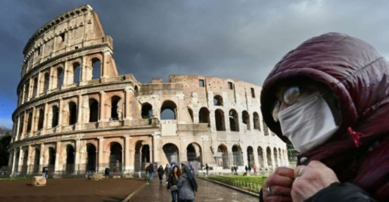 In Europe's hardest-hit country, Italy, officials are trying to close off a vast area including the cities of Milan and Venice.  By Alberto PIZZOLI (AFP)