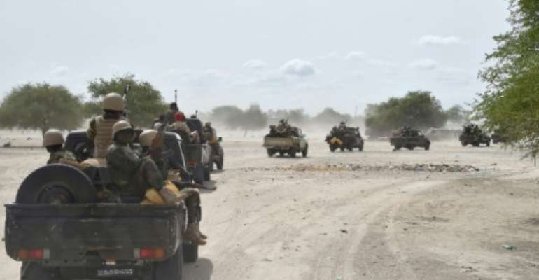 In late July of 2016 a multinational force, drawn from Nigeria, Niger, Chad and Cameroon,was formed to tackle Boko Haram insurgents and clear them out of towns and villages.  By Issouf Sanogo (AFP/File)