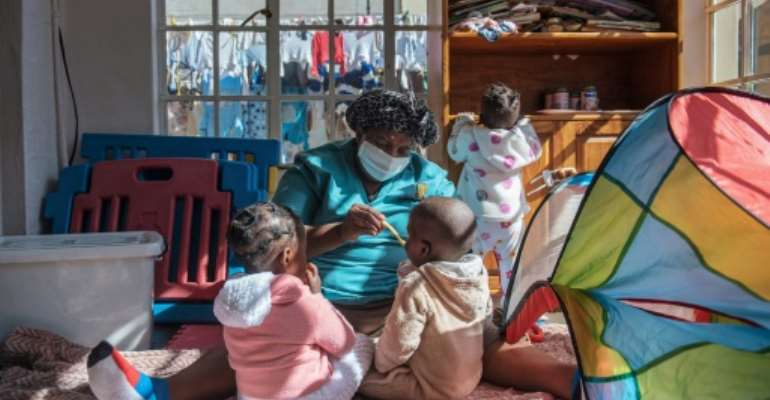 In South Africa, about 3,000 children are abandoned each year, according to estimates by the National Adoption Coalition, although some activists believe the total number could be as high as 10,000 annually.  By Michele Spatari (AFP)