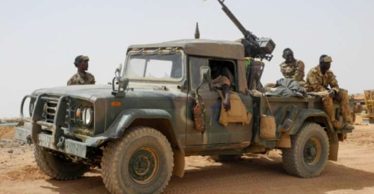 In the firing line: The Malian armed forces.  By Agnes COUDURIER (AFP/File)