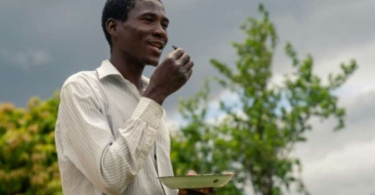 In Zimbabwean towns food tastes have become westernised, but in the countryside there remains a time-honoured tradition of eating insects.  By Jekesai NJIKIZANA (AFP)