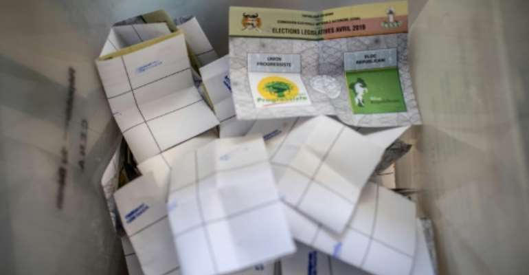 Initial estimates from civil society groups monitoring the polls said turnout ranged from as low as 1.25 percent to up to 63.27 percent.  By Yanick Folly (AFP)