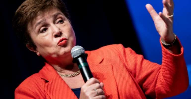 International Monetary Fund Managing Director Kristalina Georgieva said the debt relief will help the countries, nearly all of them in Africa, channel more of their scarce resources to coronavirus relief.  By JIM WATSON (AFP/File)