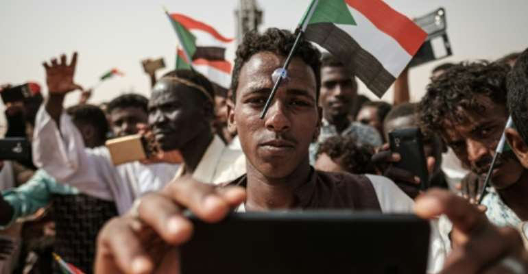 Internet on mobile phones and fixed land lines connections was cut across Sudan by the ruling military council after a deadly crackdown on protesters in early June.  By Yasuyoshi CHIBA (AFP)