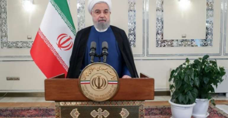 Iran is among seven countries who have have had their UN General Assembly voting rights suspended due to unpaid debts.  By - (IRANIAN PRESIDENCY/AFP)