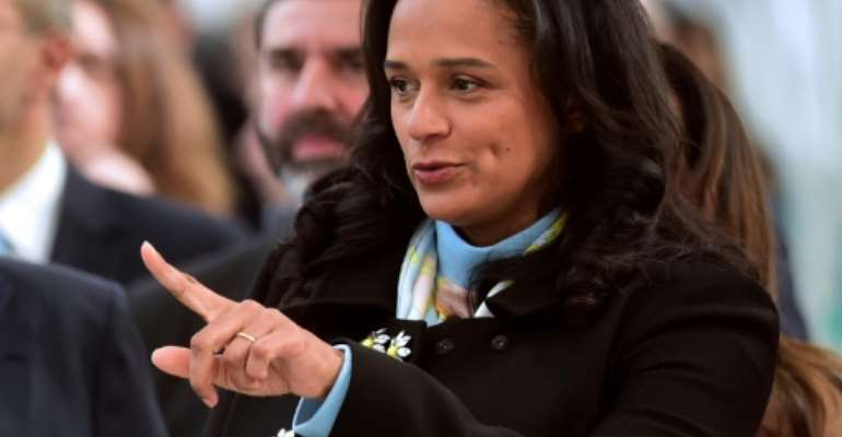 Isabel Dos Santos has been indicted by Angolan prosecutors for a host of top-level financial crimes, including money laundering and forging documents.  By MIGUEL RIOPA (AFP/File)