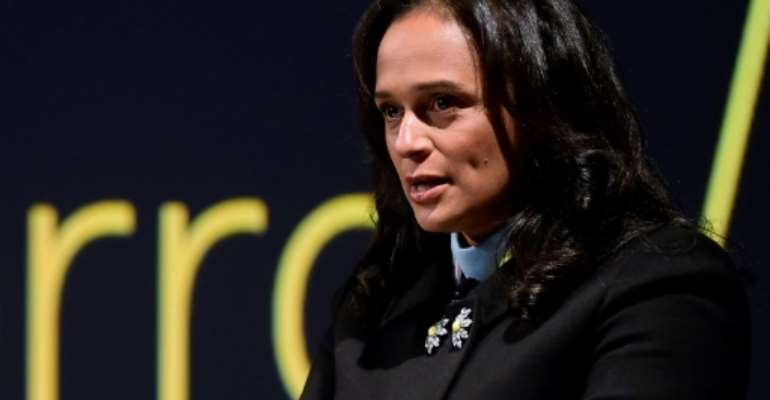 Isabel dos Santos says she is ready to fight against the allegations of graft.  By MIGUEL RIOPA (AFP/File)