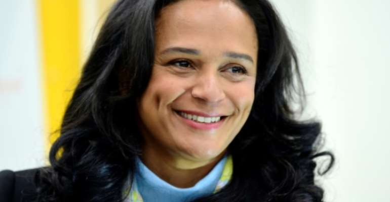 Isabel dos Santos was appointed head of Angola's national oil company Sonangol in 2016, but was forced out by her father's successor President Joao Lourenco shortly after he came to power a year late.  By MIGUEL RIOPA (AFP/File)