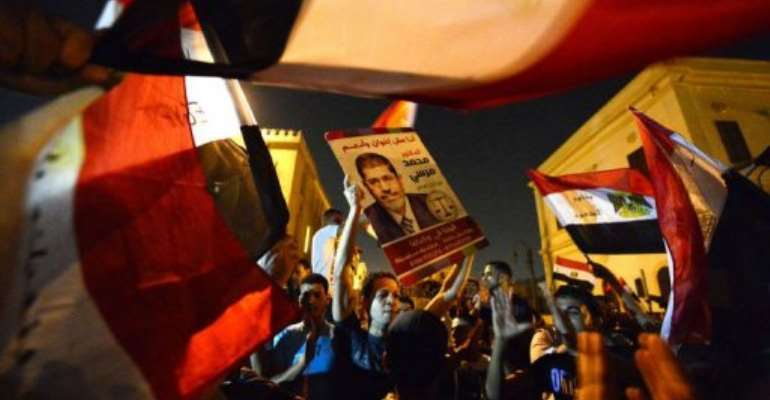 Mohamed Morsi is Egypt's first elected leader since a popular uprising ousted president Hosni Mubarak.  By Khaled Desouki (AFP)