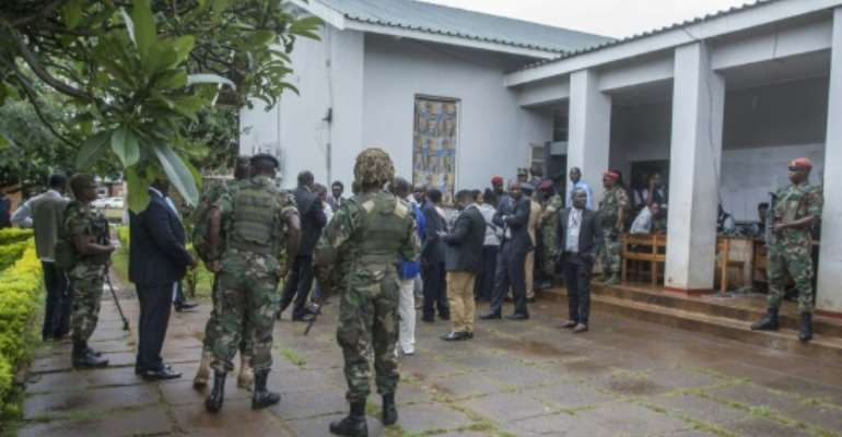 It had been feared that the court's verdict would stoke turmoil in the normally peaceful country.  By AMOS GUMULIRA (AFP)