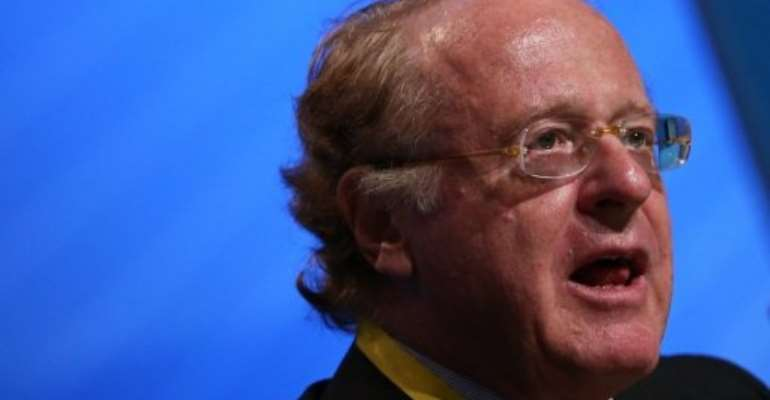 Paolo Scaroni at an OPEC seminar in Vienna on June 13, 2012.  By Alexander Klein (AFP/File)