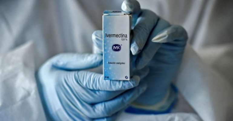 Ivermectin, an anti-parasite drug, has been widely distributed in Latin America as a treatment for coronavirus.  By Luis ROBAYO (AFP)