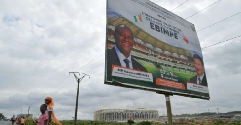 Ivory Coast President Alassane Ouattara's determination to stand for a third term has outraged opponents.  By Issouf SANOGO (AFP/File)
