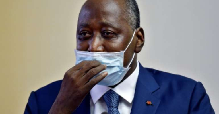 Ivory Coast Prime Minister and the ruling party's candidate in October's presidential election Amadou Gon Coulibaly has died.  By SIA KAMBOU (AFP/File)