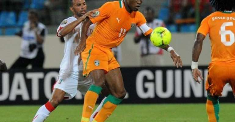 Chelsea icon Didier Drogba scored twice.  By Alexander Joe (AFP)