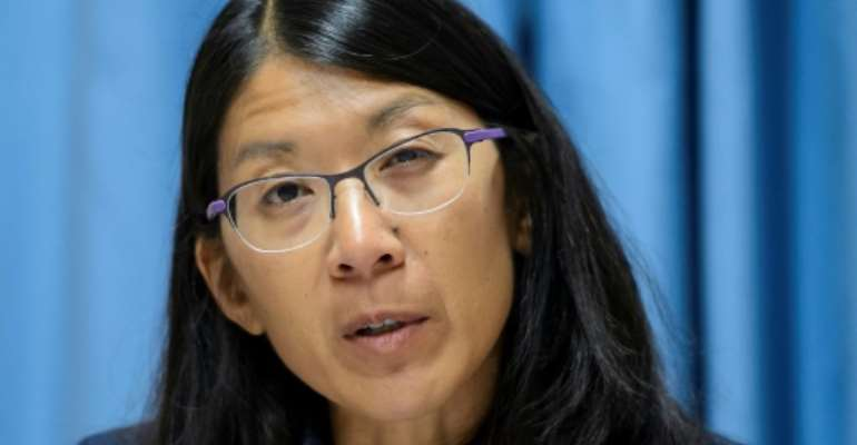 Joanne Liu, international president of Doctors Without Borders (MSF).  By FABRICE COFFRINI (AFP/File)