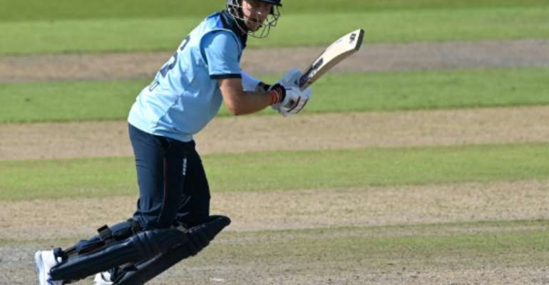 Joe Root top-scored with 77 in England's intra-squad warm-up match at Newlands.  By Shaun Botterill (POOL/AFP/File)