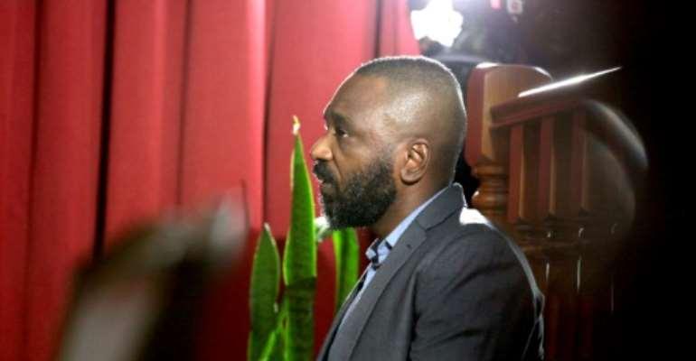 Jose Filomeno dos Santos first appeared in court in December.  By Joao da Fatima (AFP/File)