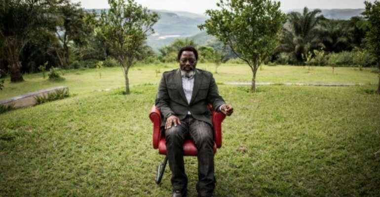 Joseph Kabila has retired to his farm at Kingakati, 80 kilometres (50 miles) from the capital.  By John WESSELS (AFP/File)