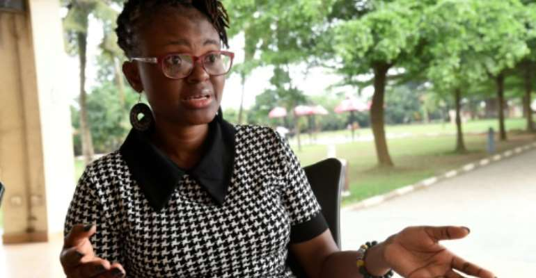Journalist Tobore Ovuorie went undercover to infiltrate a sex-trafficking ring.  By PIUS UTOMI EKPEI (AFP)