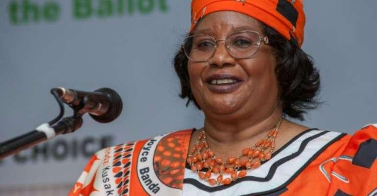 Joyce Banda served as Malawi's president between 2012 and 2014.  By AMOS GUMULIRA (AFP/File)
