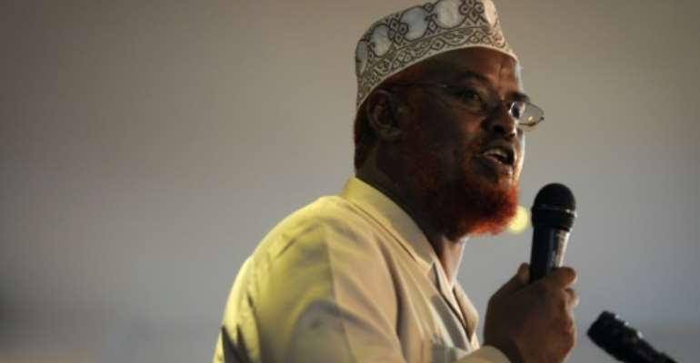 Jubaland imcumbent leader Ahmed Madobe was named victor in the regional election but his rival also claimed victory.  By TOBIN JONES (AU UN IST/AFP)