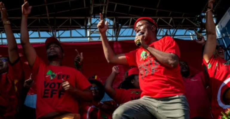 Julius Malema Malema is the self-styled