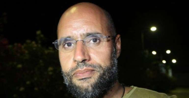 Seif al-Islam.  By Imed Lamloum (AFP/File)