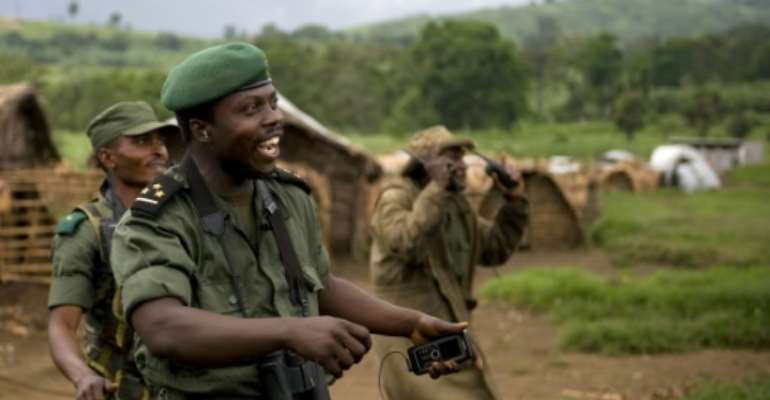 Kahimbi was close to former president Joseph Kabila.  By WALTER ASTRADA (AFP/File)