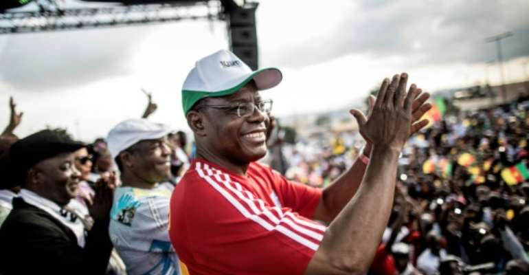 Kamto is accused of insurrection and hostility to the motherland.  By MARCO LONGARI (AFP)
