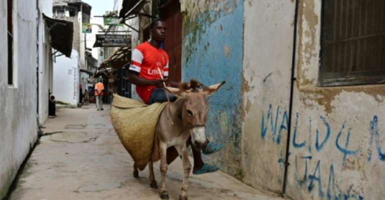 Kenya has decided to ban the slaughter of donkeys for use in Chinese medicine.  By TONY KARUMBA (AFP)