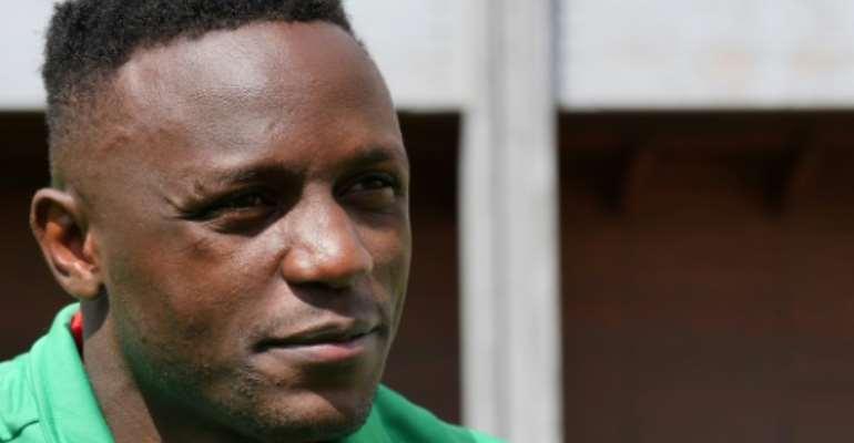 Kenyan midfielder Victor Wanyama has donated sanitizing kits to needy families in his hometown of Nairobi to help combat to coronavirus outbreak.  By Diane FALCONER (AFP/File)