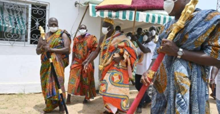 King Amon N'Douffou V called coronavirus a