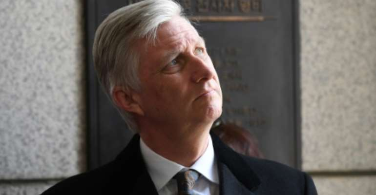 King Philippe of Belgium expressed his 'deepest regrets' for the harm done during Belgian colonial rule in what is now the Democratic Republic of Congo.  By JUNG Yeon-Je (AFP/File)