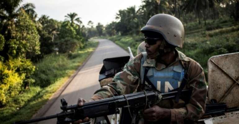 Kinshasa wants UN peacekeepers, seen here, to help