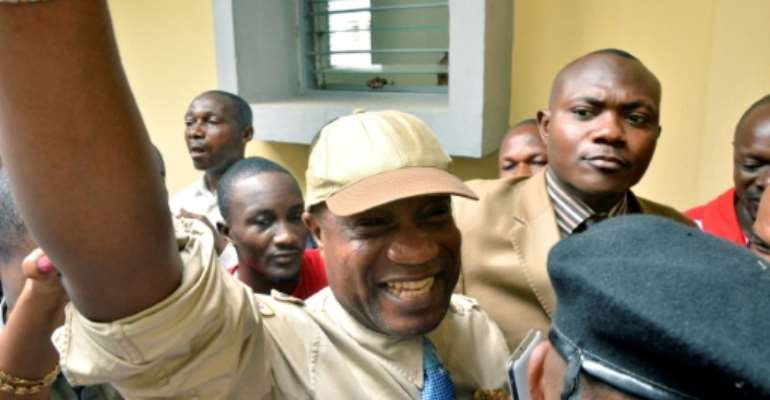 Koffi Olomide, seen here in 2012, did not attend his trial in France earlier this year.  By JUNIOR KHANNA (AFP)
