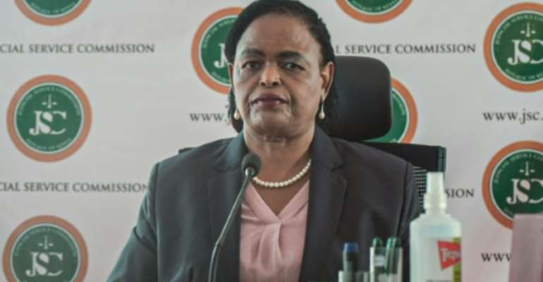 Koome made a name for herself during the autocratic regime of the late president Daniel arap Moi when she represented political detainees.  By - (AFP/File)