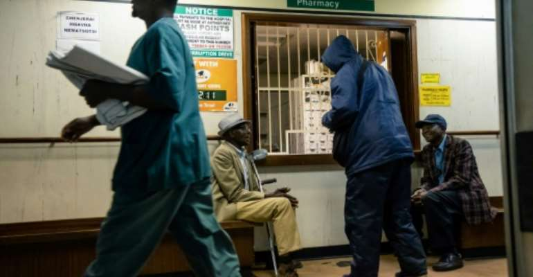 Lack of supplies and short-staffing have hit most Zimbabwe hospitals as the country struggles with economic crisis.  By Jekesai NJIKIZANA (AFP)