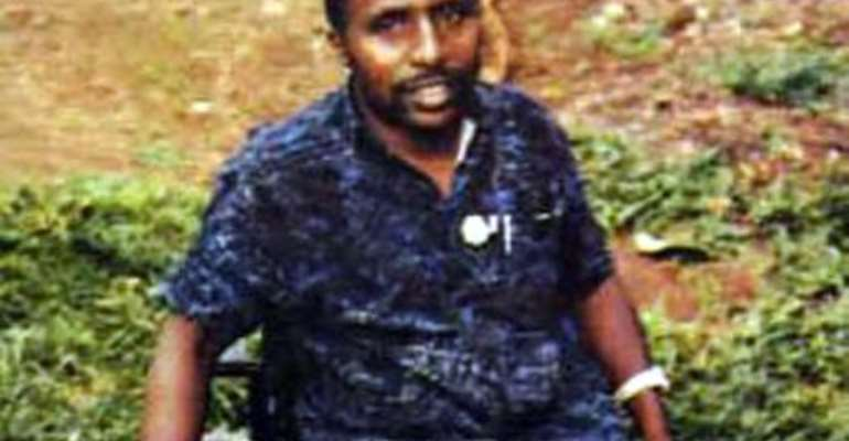 An undated picture released by Interpol shows Pascal Simbikangwa, a former Rwandan army captain arrested on the French island of Mayotte in 2008.  By Ho (INTERPOL/AFP)