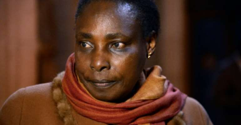 Lawyers for Habyarimana's widow Agathe said the move was 'politically motivated'.  By BERTRAND GUAY (AFP/File)