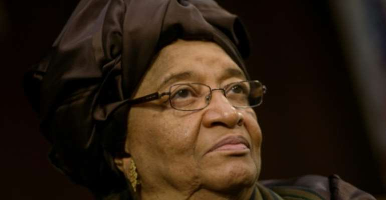 Liberia's ruling party accuses incumbent President Ellen Johnson Sirleaf of