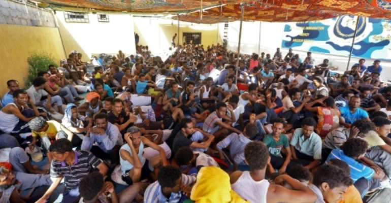 Libya has been a key departure point for migrants hoping to reach European shores.  By Mahmud TURKIA (AFP/File)